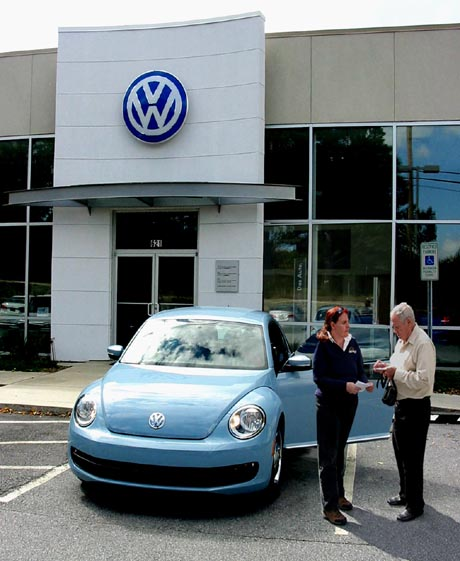 Coming Out Support Author receives 2012 VW Beetle